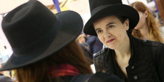 Amélie Nothomb est connue pour l'intérêt qu'elle porte à ses fans (photo