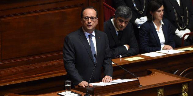François Hollande, au Congrès à Versailles, après les attentats du 13