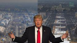 Les photos officielles de l'investiture de Trump sont arrivées (et il ne va pas être