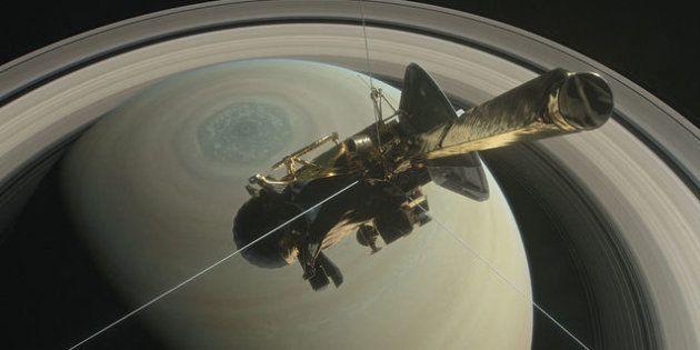 La sonde Cassini plonge dans Saturne après 13 ans de bons et loyaux