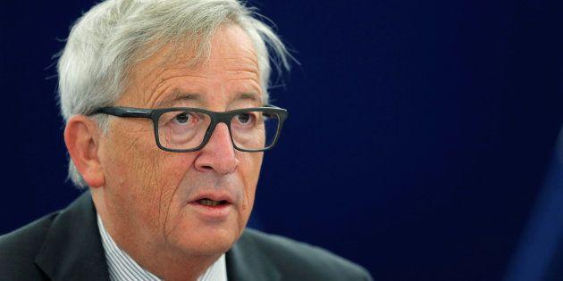 Jean-Claude Juncker le 5 octobre à Strasbourg. REUTERS/Vincent