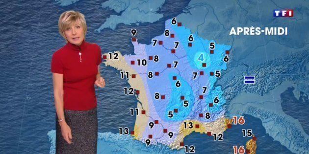 La réponse d'Evelyne Dhéliat à Hervé Morin qui critiquait sa météo n'est pas dénuée