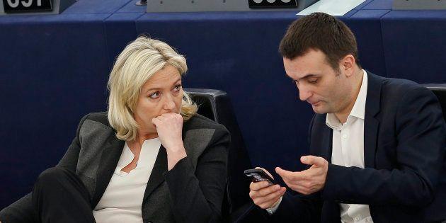 Marine Le Pen tance publiquement Florian Philippot et Robert