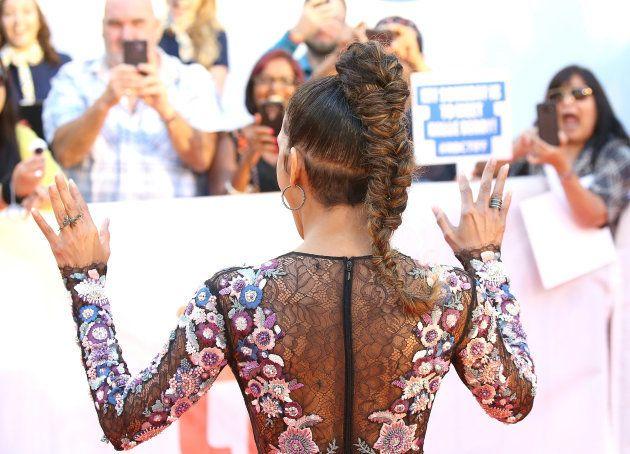 Le décolleté vertigineux d'Halle Berry au Festival du film de