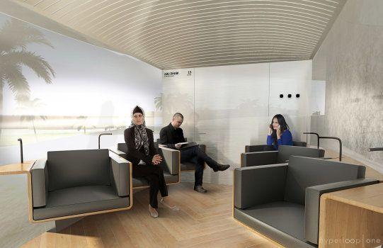 À quoi pourrait ressembler l'Hyperloop voulu par