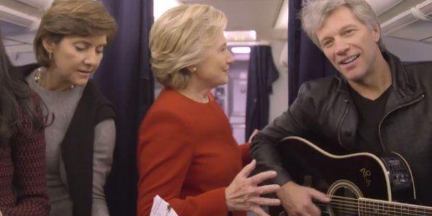 Avant les résultats de l'élection présidentielle américaine, Hillary Clinton a succombé au