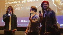 Les Fréro Delavega devant leur public pour la 1ère fois depuis l'annonce de leur