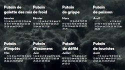 Beaucoup de Français se reconnaîtront dans ce calendrier