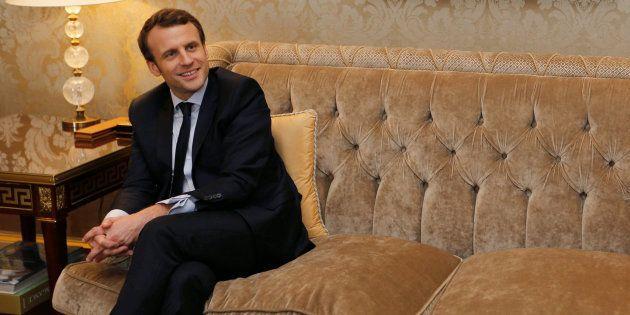 Emmanuel Macron à Paris le 3 mars