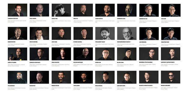 Il n'y a aucune femme parmi ces 32 ambassadeurs du nouvel appareil photo de Nikon