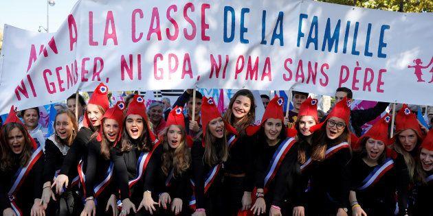 Avec la #PMAsansPère, la Manif pour tous tient son cri de ralliement pour