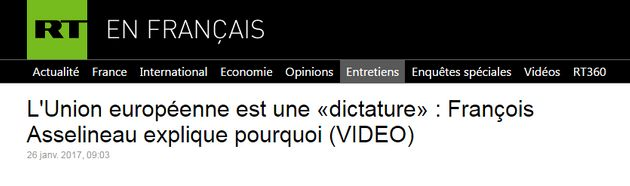 Avec François Asselineau, les conspirationnistes ont leur candidat à la