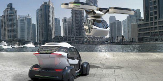 Pop.Up, la voiture volante autonome et modulable imaginée par