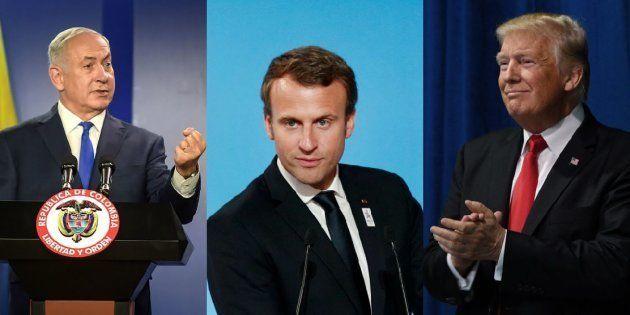 Macron, Trump et Netanyahu vont se rencontrer pour parler de