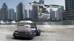 La voiture qui vole qu'Airbus imagine pour