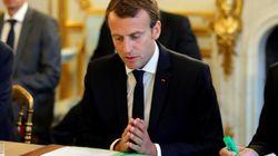 Macron n'a pas invité les caméras pour promulguer la loi d'habilitation à réformer par