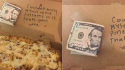 Un serveur refuse de mettre de l'ananas sur la pizza d'une cliente et lui rend son