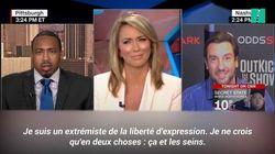 Seins, Trump et liberté d'expression: Ce débat sur CNN a totalement