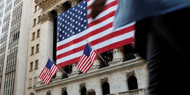 Des employés de Wall Street, le 15 septembre 2016. REUTERS/Brendan