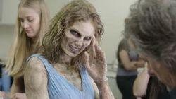 Taylor Swift dévoile les coulisses de sa transformation en zombie dans son dernier