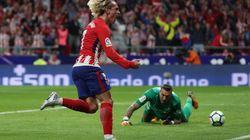 Griezmann, premier buteur du nouveau stade de l'Atlético