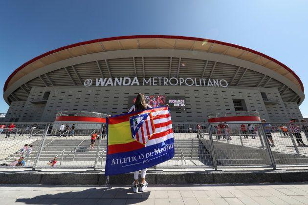 Griezmann, premier buteur au Wanda Metropolitano, le nouveau stade de l'Atlético