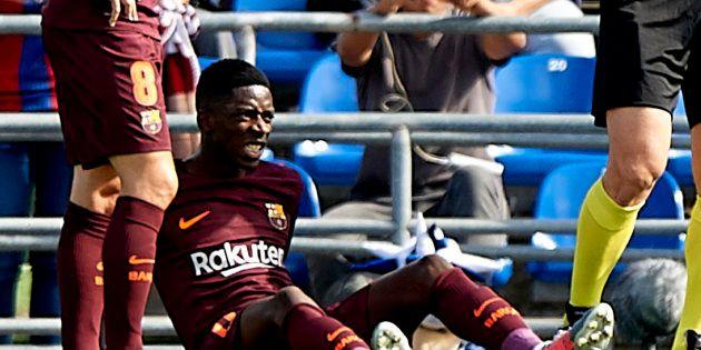 Ousmane Dembélé absent 3 à 4 mois après sa grosse blessure avec Barcelone contre