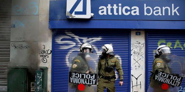 Pourquoi on n'a pas fini d'entendre parler de la dette grecque. REUTERS/Yannis
