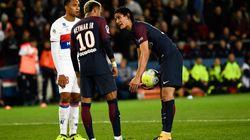 Quand Neymar et Cavani se prennent la tête pour savoir qui va tirer le