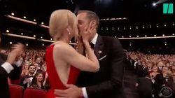 Celui que Nicole Kidman embrasse sur la bouche aux Emmys n'est pas son