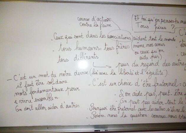 Un an après le 13 novembre, nos actions pour la fraternité dans notre collège de Saint-Etienne du