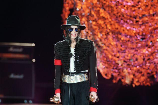 Michael Jackson à la cérémonie des