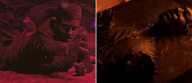 Daft Punk se prend pour Dark Vador (et The Weeknd pour Michael Jackson et Han