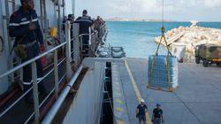 En passant par la Guadeloupe, l'ouragan Maria perturbe les opérations de secours vers