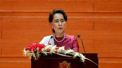 Dans un discours très attendu, Aung San Suu Kyi se dit prête à organiser le retour des Rohingyas en