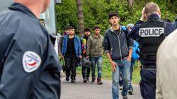 Le campement de migrants à Grande-Synthe