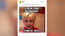 La coupe d'Hillary Clinton a volé la vedette à son discours du 8
