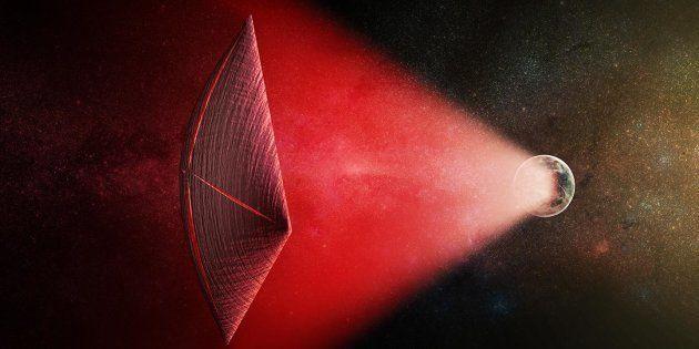 Les FRB, des signaux très puissants mais très courts, pourraient théoriquement servir à propulser de...