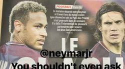 Balotelli conseille Neymar pour tirer les