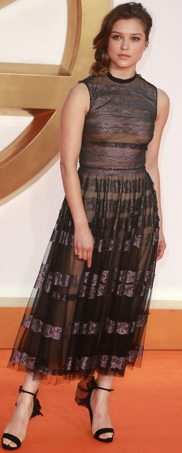 LONDON, ENGLAND - SEPTEMBER 18: Sophie Cookson attends the 'Kingsman: The Golden Circle' World Premiere...