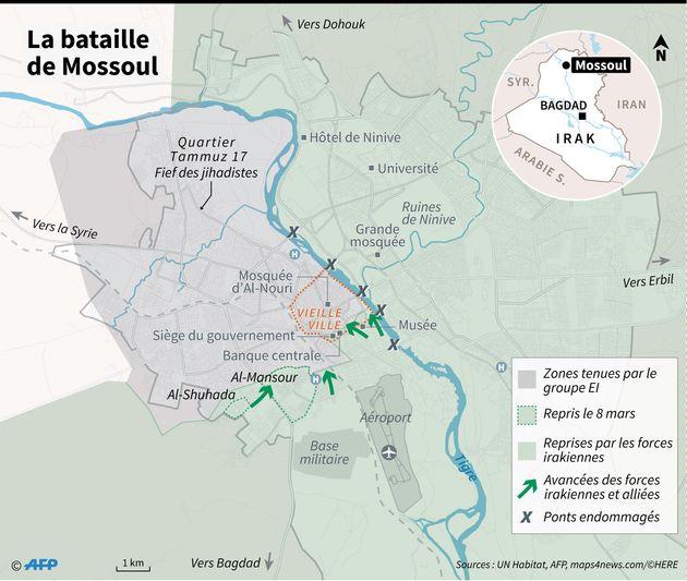 Menacé dans ses fiefs en Irak et en Syrie, Daech repoussé dans ses