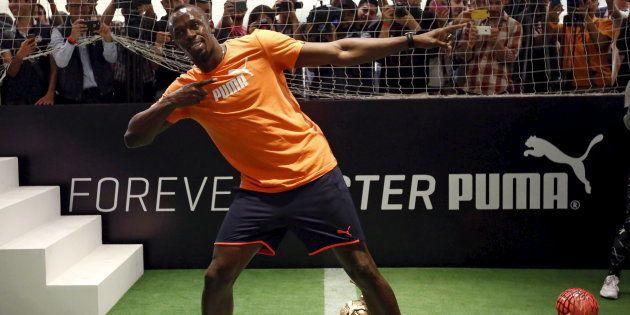 Usain Bolt, qui rêve de faire du football, va s'entraîner avec le Borussia