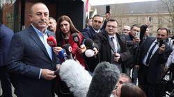 Erdogan remercie la France pour avoir autorisé la visite du ministre turc refoulé des