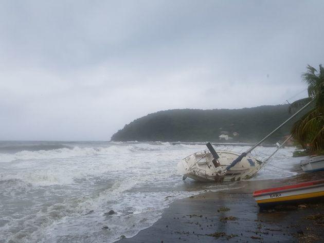 Ouragan Maria: deux morts et deux disparus en