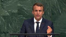 A l'Onu, Macron promet une initiative contre