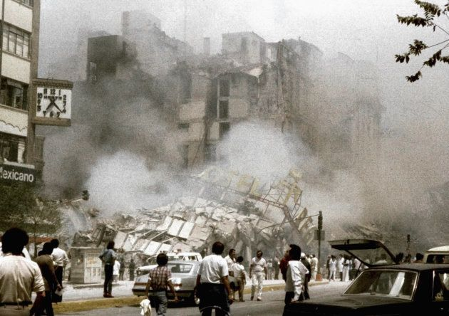 Mexico frappée par un violent séisme, 32 ans jour pour jour après les 10.000 morts de
