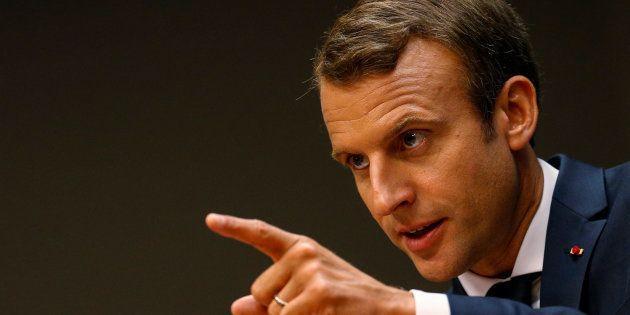Emmanuel Macron à New York le 19 septembre