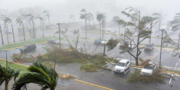 Ouragan Maria: les images de Porto Rico frappé