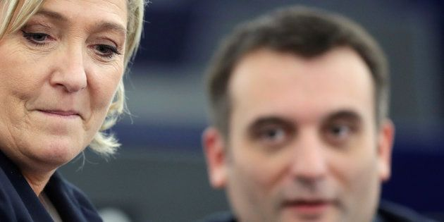La sanction de Marine Le Pen contre Florian Philippot en forme de porte de