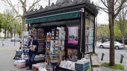 Le kiosque parisien ne ressemble plus à